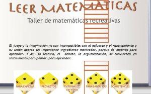 matematicas creativas