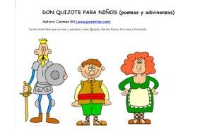 don quijote poemas
